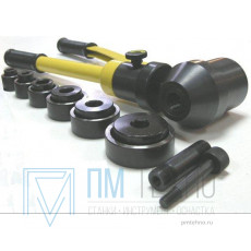 Перфоратор ручной гидравлический для выдавливания отверстий автономный 22-60мм (HHK-8A)