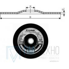 Круг Зачистной армированный 230х 6х22 ПП 14А по металлу (ВАЗ) тип 27