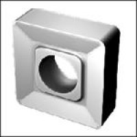 Пластина SNMM  - 150412  Т14К8 квадратная dвн=6мм (03124)  со стружколомом