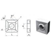 Пластина SNUM  - 190612  ВК8(YG8) квадратная dвн=8мм (03114)  со стружколомом