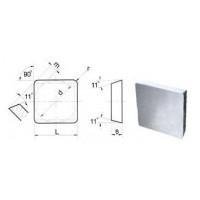 Пластина SPUN  - 120408  Т5К10(Н30) квадратная (03311) односторонняя нор.точности без отверстия