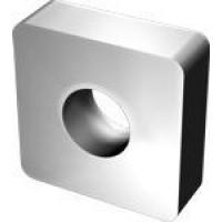 Пластина SNUA  - 150412 Т5К10(Н30) квадратная dвн=6мм  (03113) гладкая с отверстием