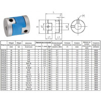 Муфта D20х23мм, для валов d 6 х d 6мм (OHC20)