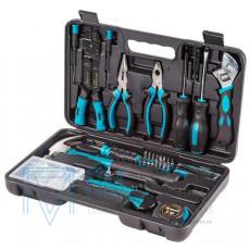 Набор ручного инструмента BORT BTK-160 в кейсе (38 предметов)