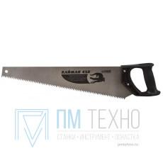 Ножовка 450мм прямой шаг 4,5мм с пластмассовой ручкой, скош. полотно