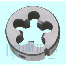 Плашка М 16,0 (2,0) dнар.45мм 9ХС  6h
