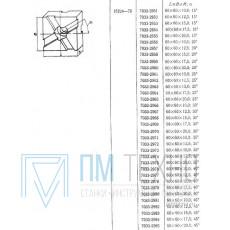 Подкладка квадратная 60х60х15,0 с косыми пазами 12мм 15°(7033-2953) ГОСТ15224-70 (восстановленная)