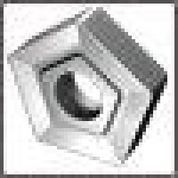 Пластина PNMM  - 110416  Т15К6 (YT15) пятигранная dвн=6мм (10124) со стружколомом