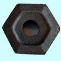 Пластина HNUM - 110608  МС2210 шестигранная dвн=8мм(11114) со стружколомом