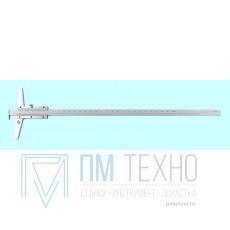 Штангенглубиномер 0- 150мм ШГ-150, цена деления 0.05 с зацепом толщиномером