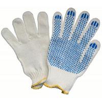Перчатки трикотажные с ПВХ (точка 22 р-р)