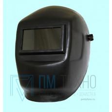 Маска сварщика (пластиковая) светофильтр 69х121мм