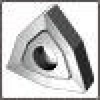 Пластина WNUM - 100608  Т15К6(YT15) трёхграная ломанная dвн=6мм (02114) со стружколомом