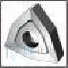 Пластина WNUM - 060304  ВК8(YG8) трёхгранная ломаная dвн=4мм (02114) со стружколомом