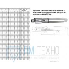 Цековка D 15,0 х d 6,6 х132 к/х Р6АМ5 с постоянной направляющей цапфой, КМ2