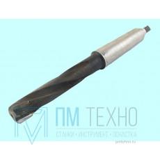 Зенкер d 12,75 (№2) к/х оснащенный пластинами ВК8 Z=3 КМ1